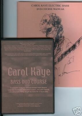 Carol Kaye Bass Dvd Course