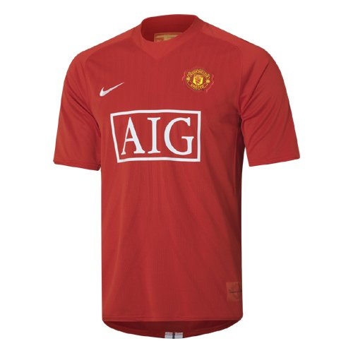 Nike Manchester United Jersey - Youth - Home - 2007/2008