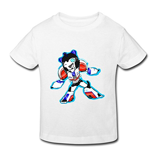 Toddler's Transformers Robots In Disguise Cute T-Shirt White US Size 2 Toddler,100% Cotton
