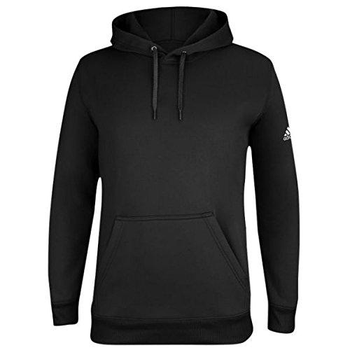 (アディダス) adidas Team チーム Climawarm Issue イシュー Hoodie - Men's メンズ 男性用 Black ブラック/White ホワイト [並行輸入品]