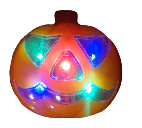 WeGlow International Light Up Pumpkin Necklace, Set of 3