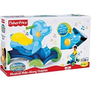 Fisher Price Musical Ride Along Dolphin Amazon Co Uk Baby