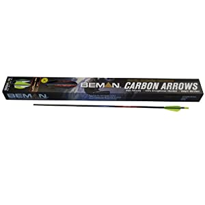 Beman ICS Hunter Junior 26-Inch Dozen Arrows with 3-Inch Vane by Beman
