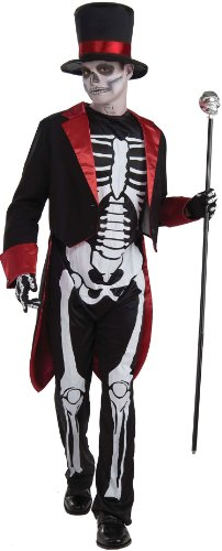 Boys Mr. Bone Jangles Costume - Teen Boys (up to chest size 40)