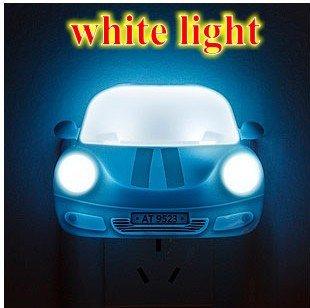 Steve Yiwu Creative Led Small Night Light - Dazzle Colour Automobile Modeling A Night Light(Color Randomly Send)
