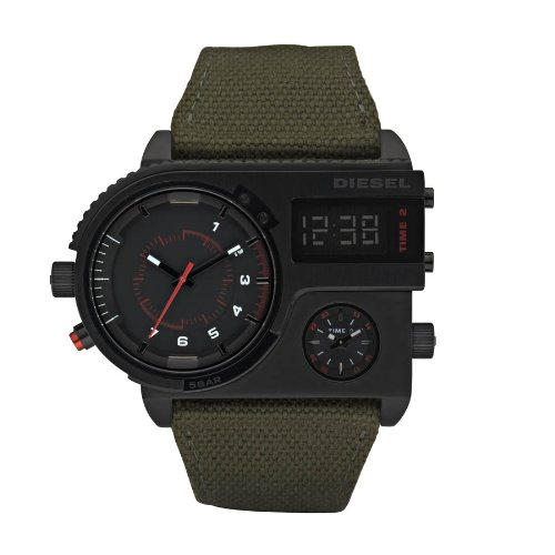 Diesel DZ7206 Mens S.B.A Military Green Watch