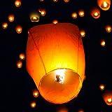 E-worldmarket 50x Chinese Paper Sky Flying Wishing Lanterns Candle Party Wedding