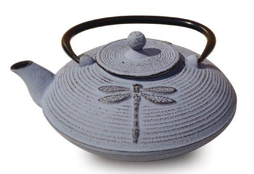 Old Dutch Cast Iron Placidity Teapot, 26-Ounce, Lavender front-498513