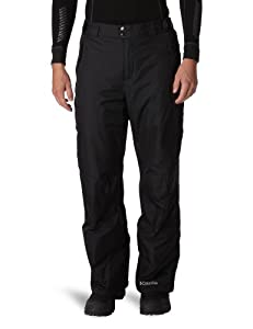 Columbia Men's Bugaboo II Pant, Black, XX-Large/Short