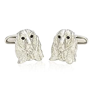 Cuff-Daddy Cocker Spaniel Dog Cufflinks