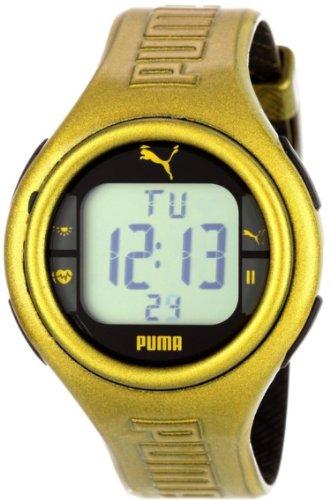 Puma Men'S Pu910541007 Pulse Metallic Gold Heart Rate Monitor Watch