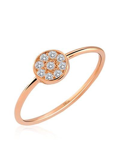 Divas Diamond Anillo Gemstone Design Oro