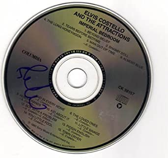 Amazon.com: Elvis Costello Autographed Signed Imperial Bedroom CD