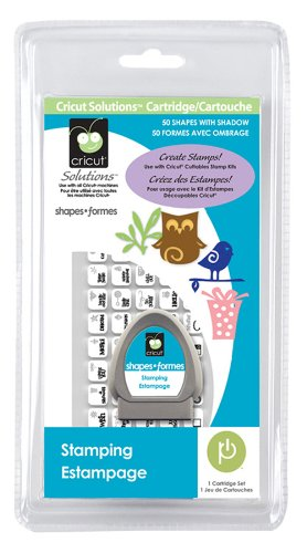 Cricut Solutions Cartridge, Stamping