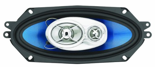 "Ssl F341 Force 400-Watt 3 Way Auto 4"" X 10"" Coaxial Speaker"