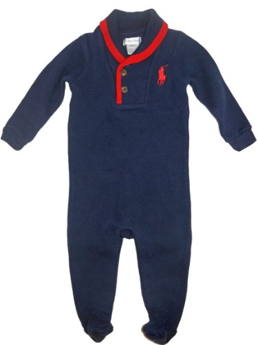 Ralph Lauren Layette Baby Boys' Coverall 9 mo