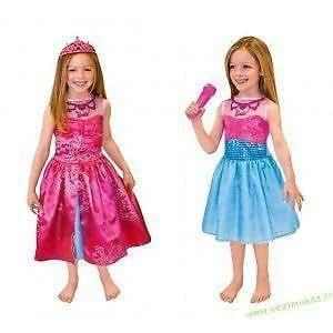 Barbie princesse de popstar dress up costume costume filles age 3 5 jeux et jouets - Jeux de barbie popstar ...