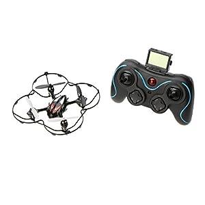 JJRC H6C 2.4G 4CH 6 Achsen Gyro RC Quadcopter Ferngelenkte Spielzeug w / 2 Megapixel Kamera Moudle Rot / Blau