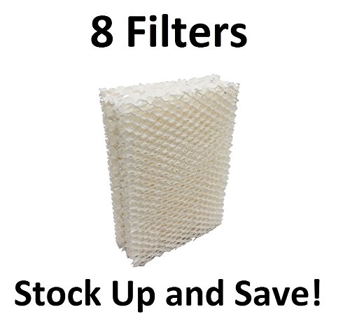 Humidifier Wick Filter for Emerson Essick Air HDC-12 - 8 Pack (Emerson Humidifier Paper compare prices)