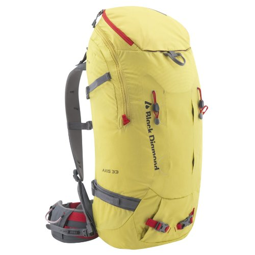 B004KWD218 Black Diamond Axis 33 Backpack, Sulfur, Large