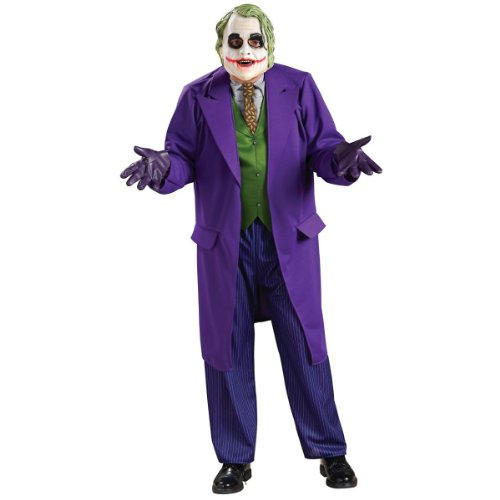 Deluxe Joker Costume - X-Large - Chest Size 44-46