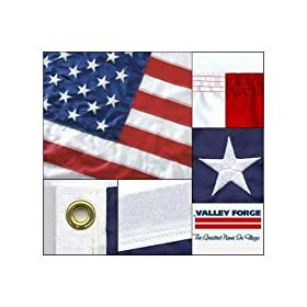 American Flag 2ft x 3ft sewn nylon by Valley Forge Flag