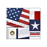 American 4ft x 6ft Sewn Nylon USA Flag by Valley Forge