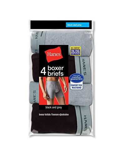 hanes-mens-tagless-2xl-boxer-briefs-with-comfort-flex-waistband-4-pack-assorted-black-grey-size-2xl