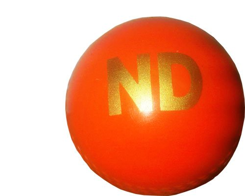 ND Cricket Practice Training Wind Ball Senior Orange New