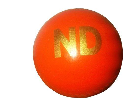 ND Cricket Practice Training Wind Ball Senior Orange New