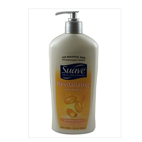 Vitamin E Body Lotion By Suave - 18 oz Body Lotion For Unise