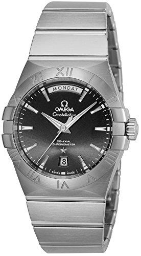 [オメガ]OMEGA 腕時計 コンステレーション ブラック文字盤 コーアクシャル自動巻 123.10.38.22.01.001 メンズ 【並行輸入品】