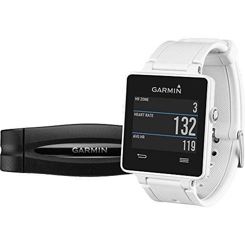 Garmin vívoactive HRM - Smartwatch con GPS y pulsómetro, color blanco 159.00€