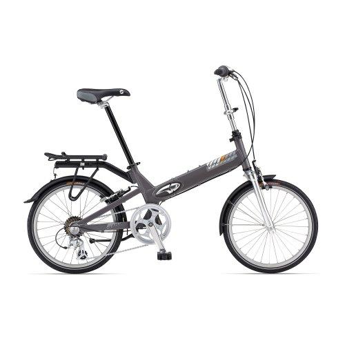 Giant Halfway City grey (2013) (Frame size: 31 cm) 7 speed folding bike