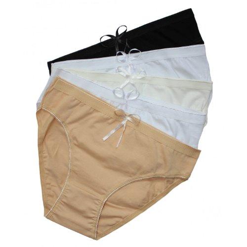 5er-Vorteilspack-Damen-Slips-Unterhosen-aus-Baumwolle-Damen-Pantys