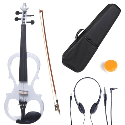 cecilio-l3-4cevn-l1w-left-handed-solid-wood-pearl-white-electric-violin-with-ebony-fittings-in-style