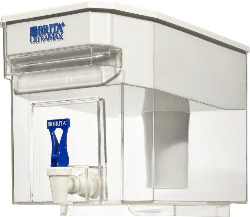 Brita Ultramax Water Filter Dispenser, 18 cups - White (Compact Brita compare prices)