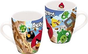 Angry Birds 12 x 8.5 x 10cm Curved Ceramic Mug in Gift Box