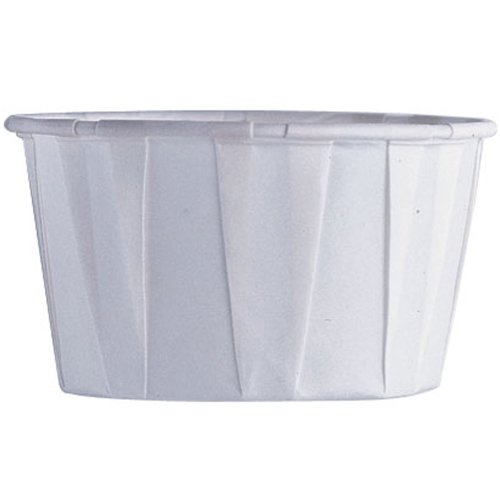 Mini Nut & Party Cups-White 36/Pkg 1.25 Oz.