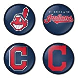 "Cleveland Indians MLB Round Badge 1.75"" Pinback at Amazon.com"