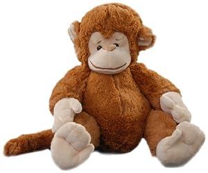 Play n Pets PNP-3228 Monkey 34cm (Small), Brown