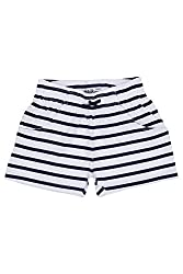 Chalk by Pantaloons Girl's Cotton Shorts (205000005647283, White, 5-6 Years)