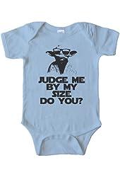 BABY ONESIE - YODA JUDGE ME BY MY SIZE DO YOU?