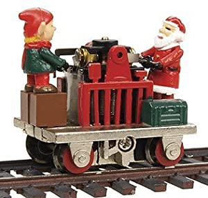 Self Propelled - Bachmann Trains Operating Gandy Dancer Christmas