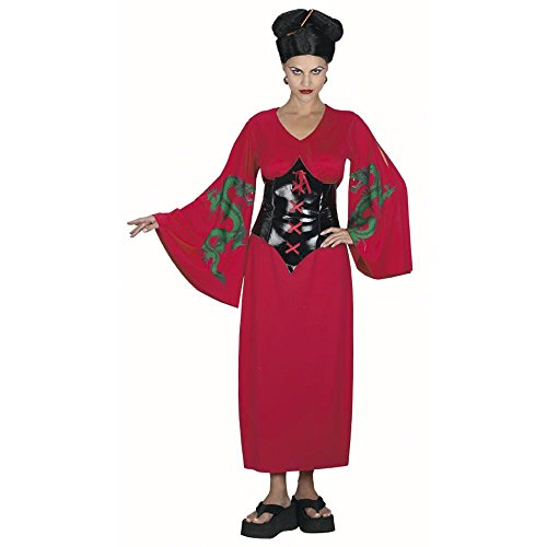 Adult's Asian Dragon Lady Costume (Size: Standard 12)