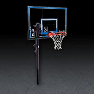 Buy Spalding In-Ground Basketball Hoop with 50-Inch Polycarbonate Backboard by Spalding