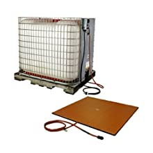 BriskHeat TTH32361D TTH Caged (IBC) Tote Tank Heater And Controller, Silicone Rubber, W x L: 32 x 36-Inch, 120VAC