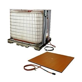 BriskHeat TTH32361D TTH Caged (IBC) Tote Tank Heater And Controller, Silicone Rubber, W x L: 32 x 36-Inch, 120VAC