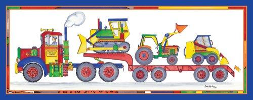 """Art 4 Kids """"Dirt Diggers"""" Mounted Art Print, 30""""X12"""" front-1025272"""