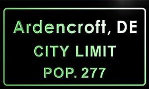 Amazon.com - t85220-g Ardencroft village, DE City Limit Pop 277ardencroft village